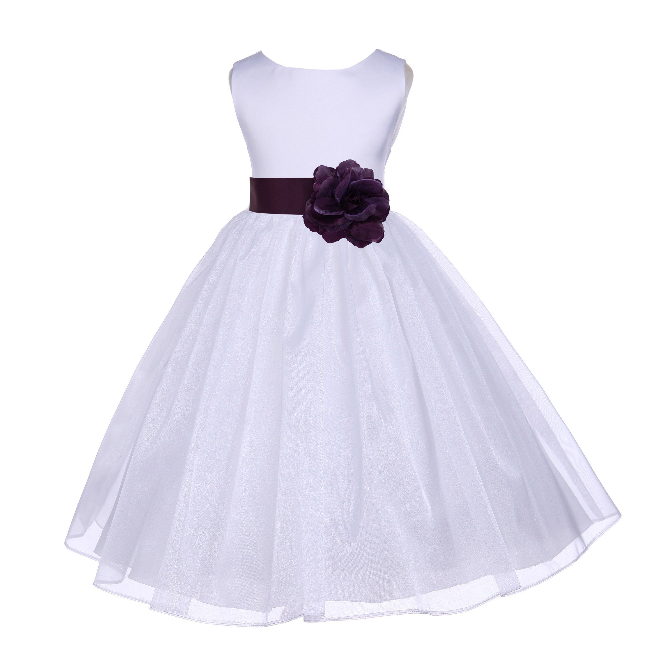 Petticoat for wedding dress  White Organza Flower Girl Dress Receptions Wedding Bridal Beauty
