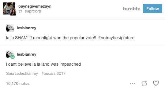 27 Tumblr Jokes About The Oscars That Are Deliciously Savage Jokes Brutally Honest Tumblr