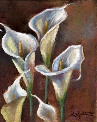 Calla Lily Bouquet by artist Hall Groat II, on ...
