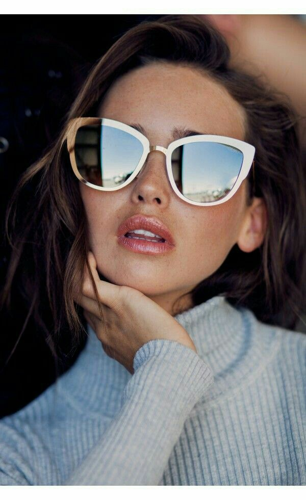 NEU Cat Eye My Mädchen Australien Stil Sonnenbrille Ronette Mode Ros u2DC8