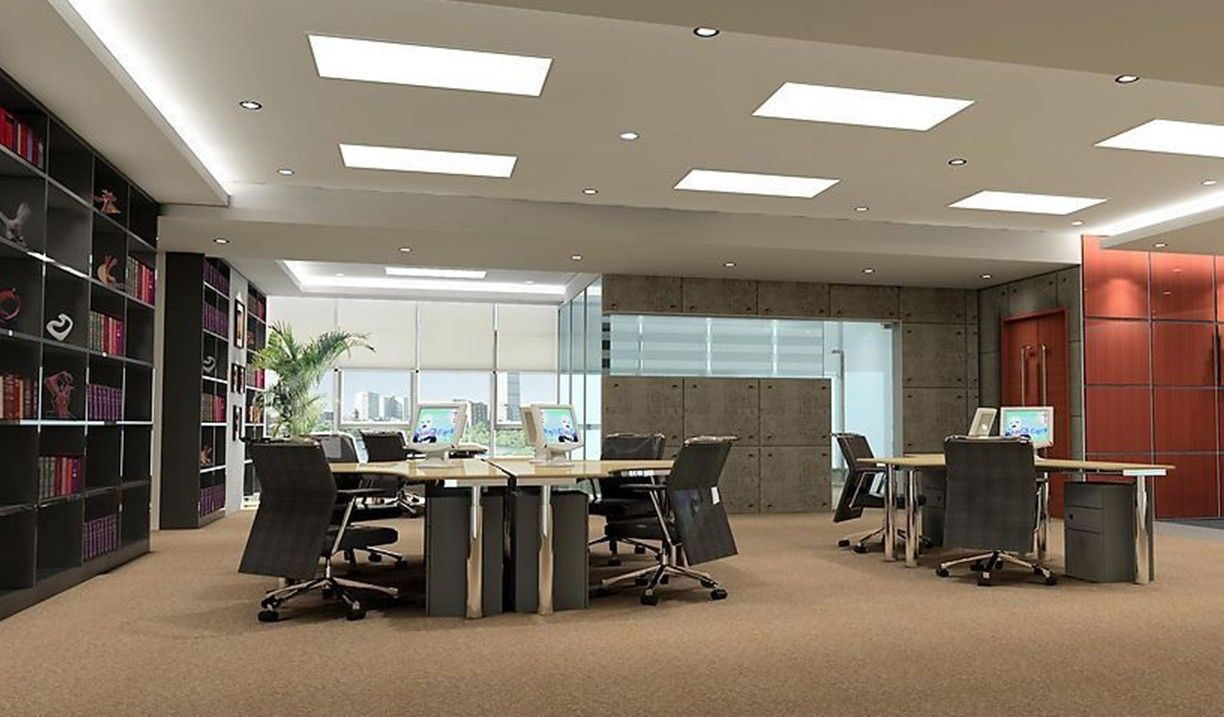 Commercial Ceiling Interior Decor Design Office