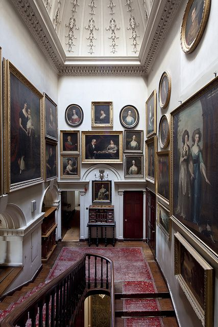 Image from The Scottish Country Houses by James Knox #countryhousedecor