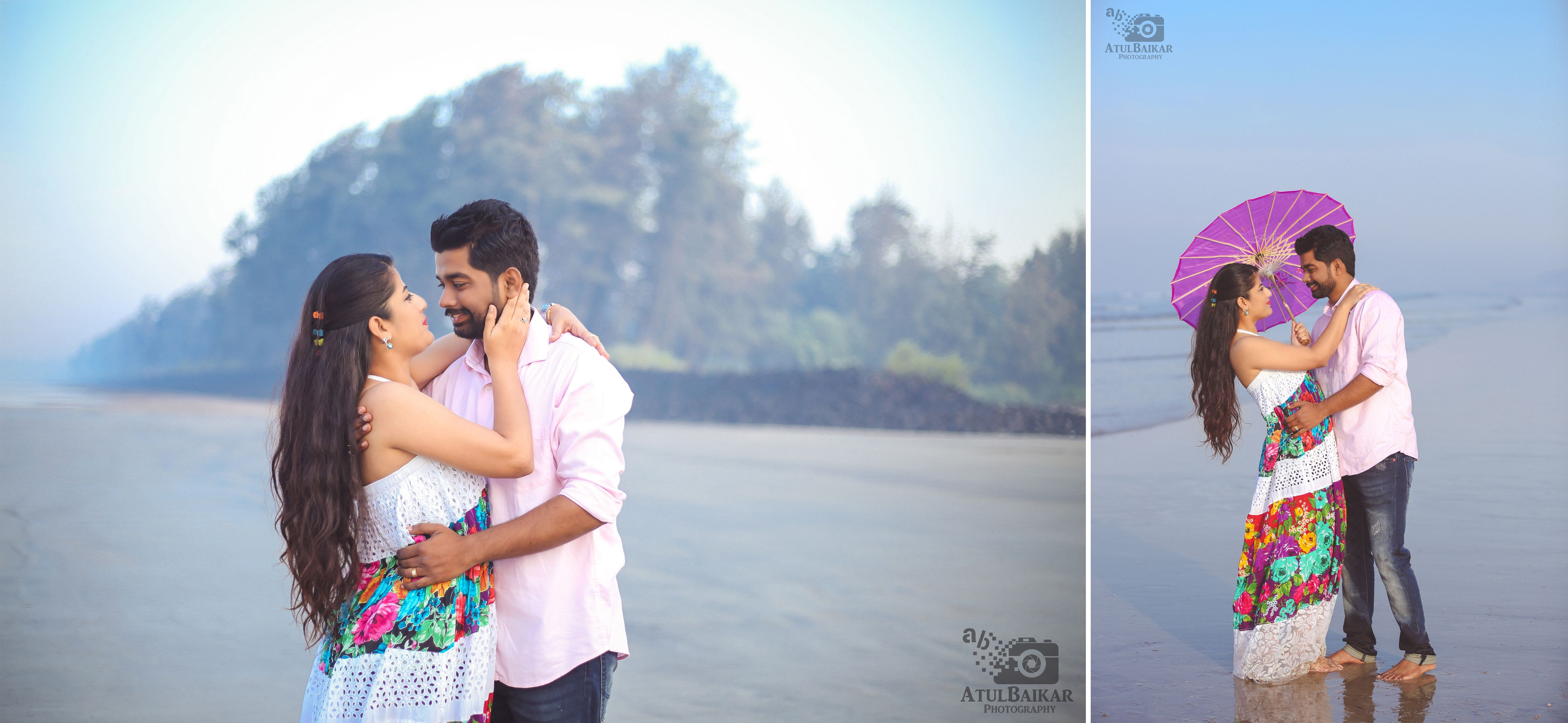 Beachside Prewedding With Ekta Rushi Beach
