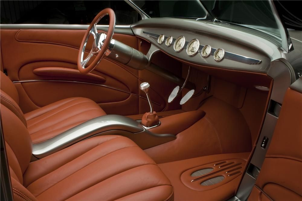 1932 Ford Lot 1309 Barrett Jackson Auction Company Hotrod Interior Custom Car Interior Car Interior