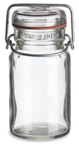 Specialty Bottle 9 Oz Vintage Style Mason Jar With Bale Top Lid 3 98