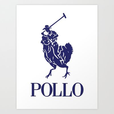 Pollo+Art+Print+by+markus731+-+$14.56