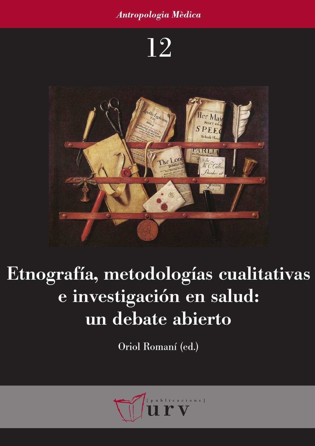 Etnografias, metodologias cualitativas urv