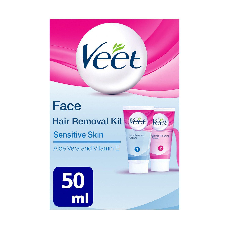 Buy Face Hair Kit Removal Sensitive Skin Veet Veet Hair