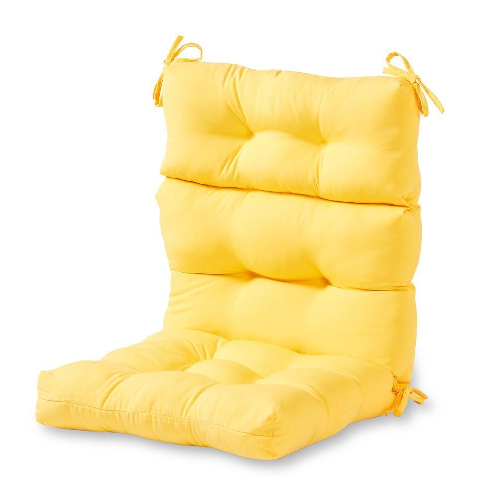 Astounding Greendale Home Fashions Solid Sunbeam Outdoor High Back Machost Co Dining Chair Design Ideas Machostcouk