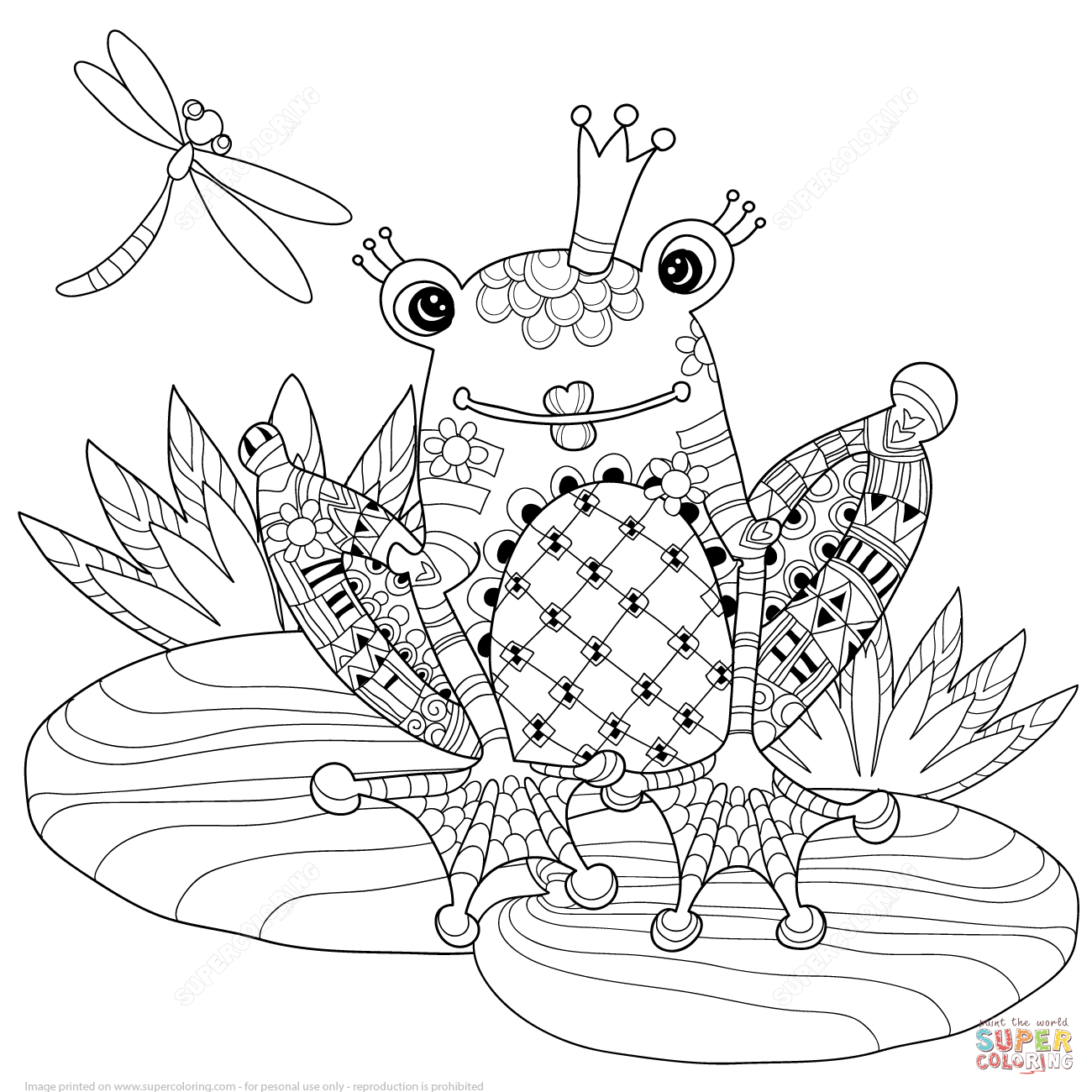 Zentangle De Principe Rana