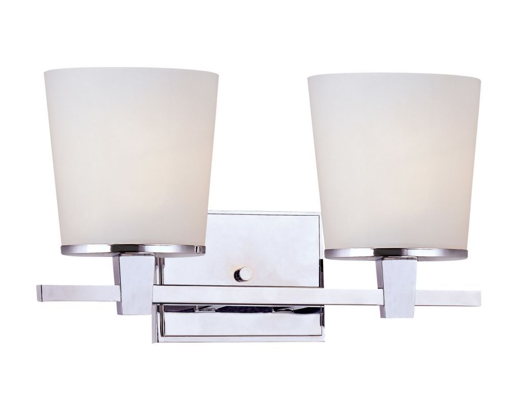 Photo of Dolan Designs 3782-26 Chrome 2 Light Up Lighting Bathroom Fixture from the Ellipse Collection – LightingDirect.com