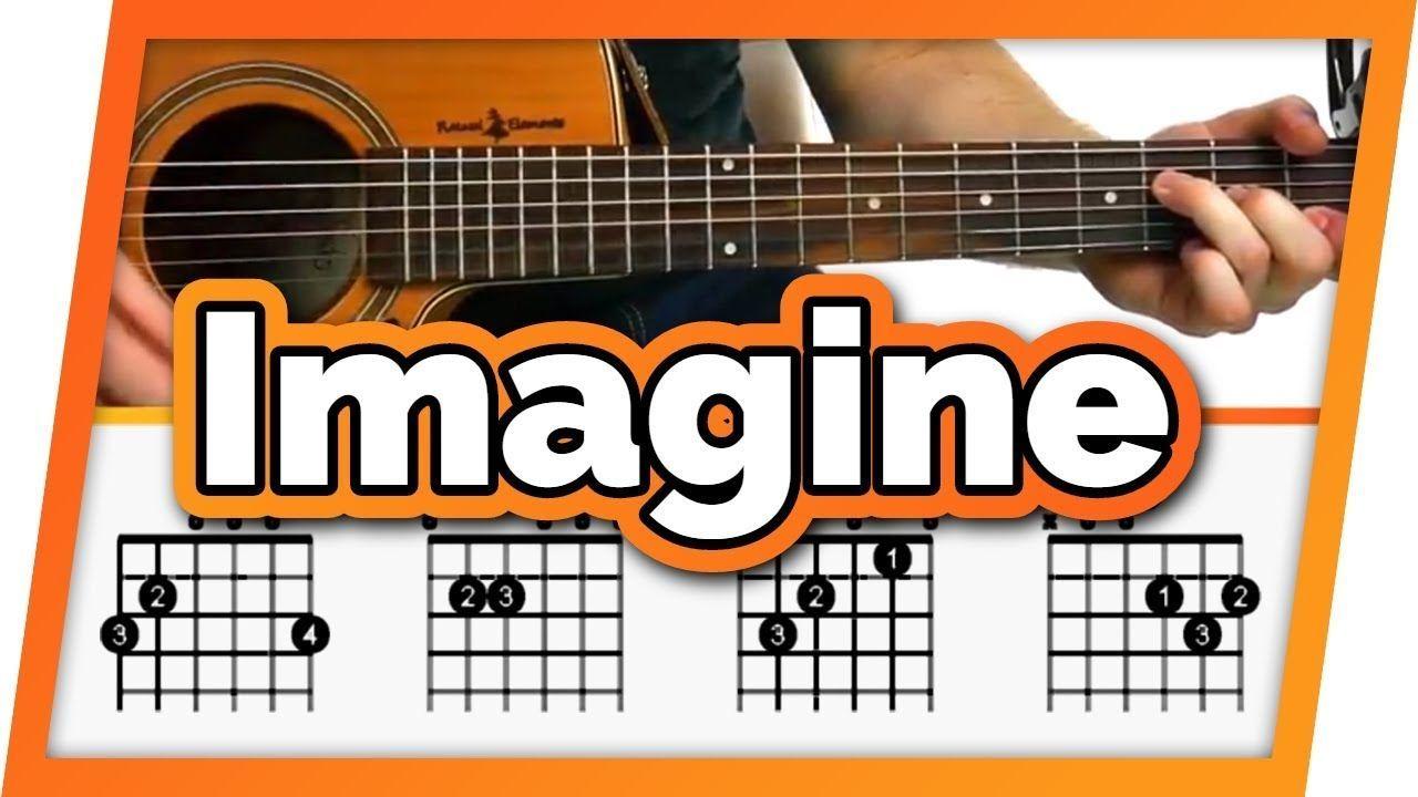 Imagine John Lennon Guitar Tutorial Lesson For Beginners
