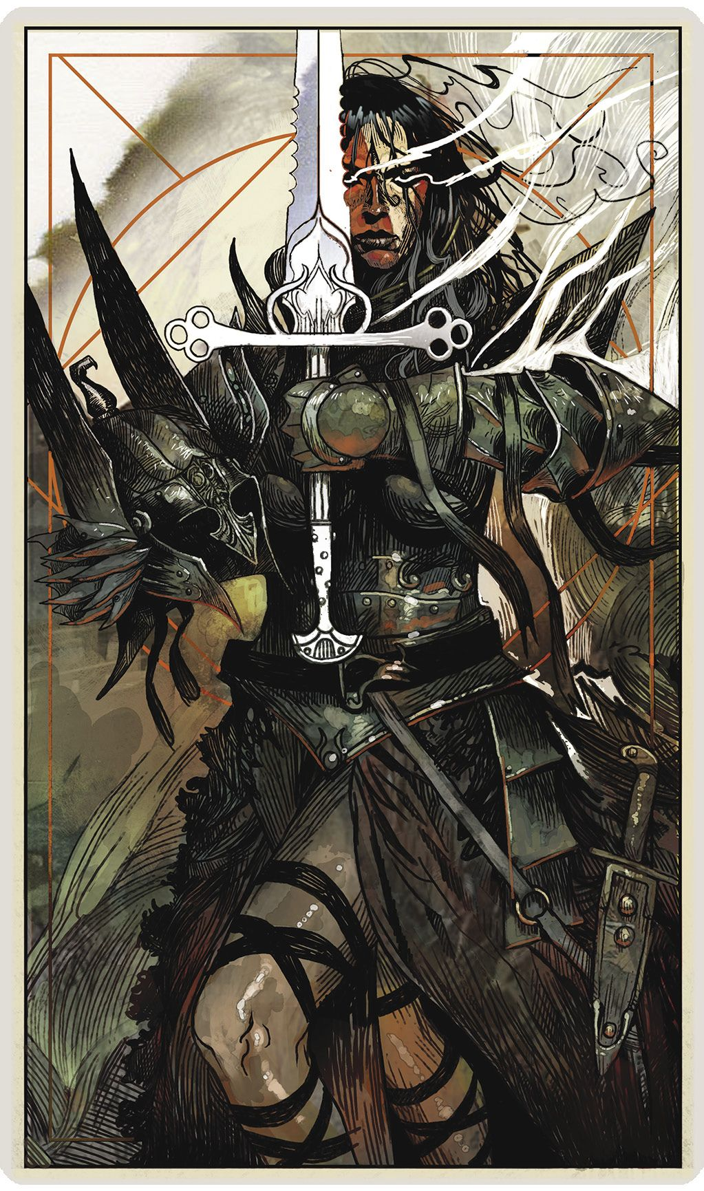 Dragon Age Inquisition Tarot in 2019 Dragon Age Trilogy