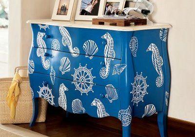 Painted Furniture Creative Ideas