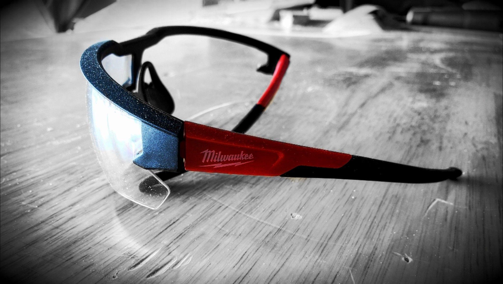 Love these Milwaukee Tool Safety Glasses! Milwaukee