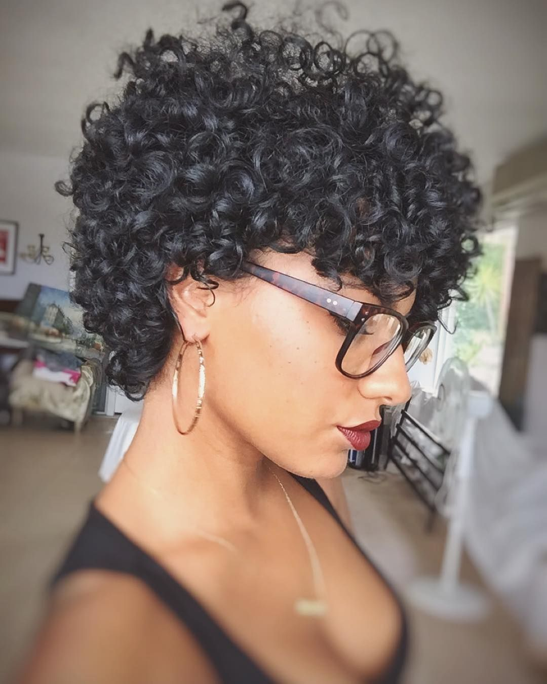 Bantu Knots On Short Natural Hair Pinterest