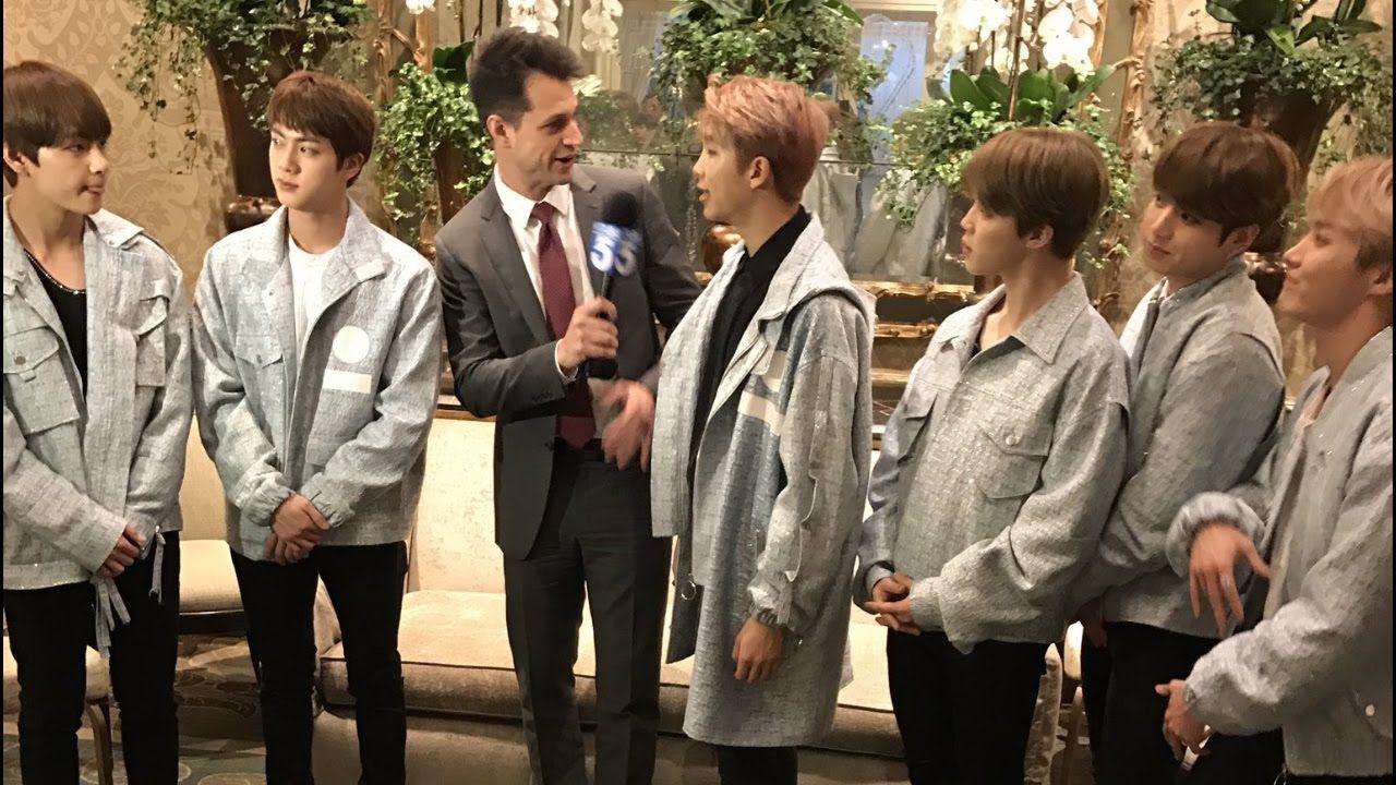 BTS On KTLA Evening News ❤ #BTS #방탄소년단