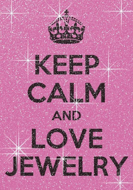Keep Calm and Love #Jewelry | Sieraden Quote | www.bykaro.nl voor kralen, bedels en meer...