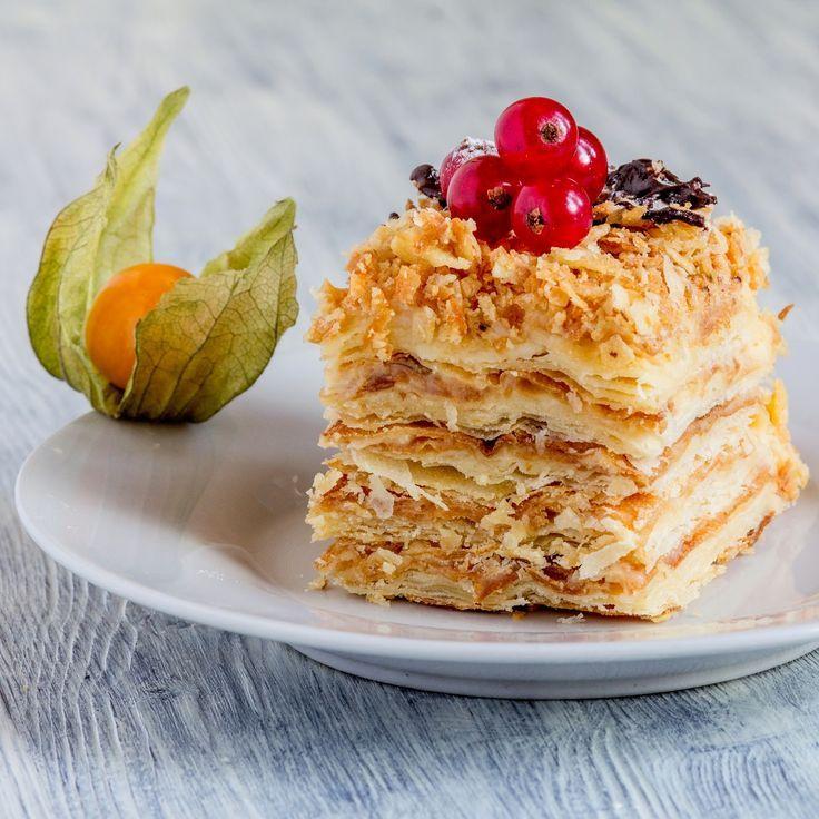 Anybenyraba: Napoleon-Kuchen - #anybenyraba #kuchen #napoleon - #Hannah'sNapoleonKuchenRezept #napoleonkuchenrussisch