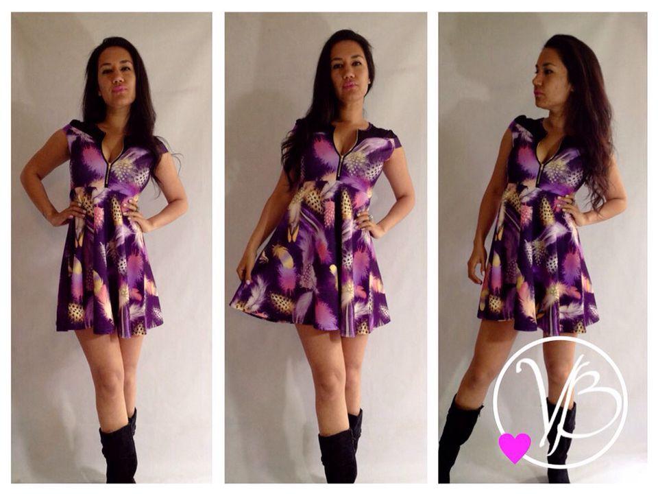 Vestido Campanita Victoriabascuñan 56951104965 Vestidos