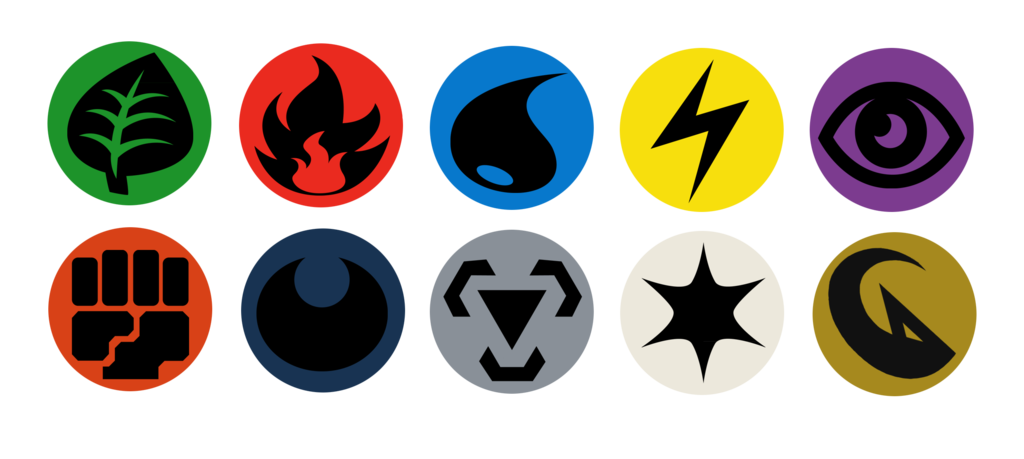 Button Designs Pokemon Tcg Energy Symbols By Bagleopard On