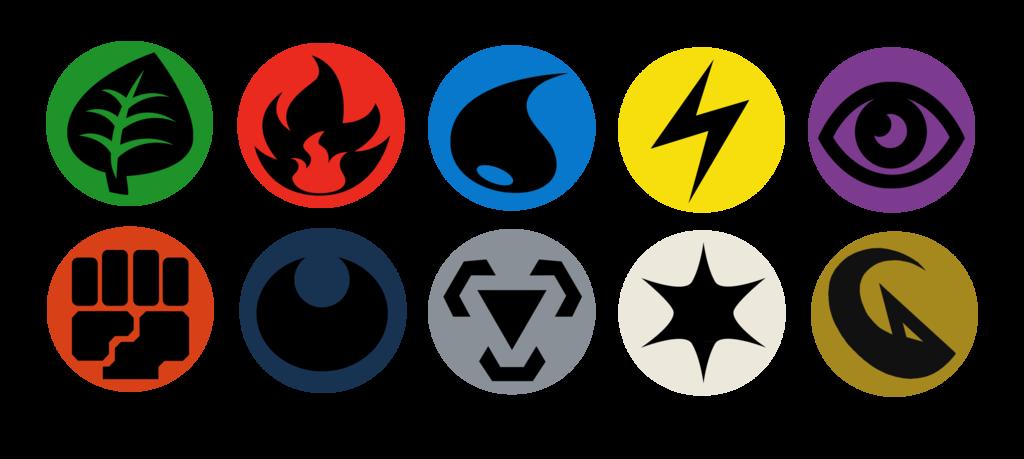 Button Designs Pokemon Tcg Energy Symbols By Bagleopard On Deviantart Energy Symbols Pokemon Vinyl Artwork