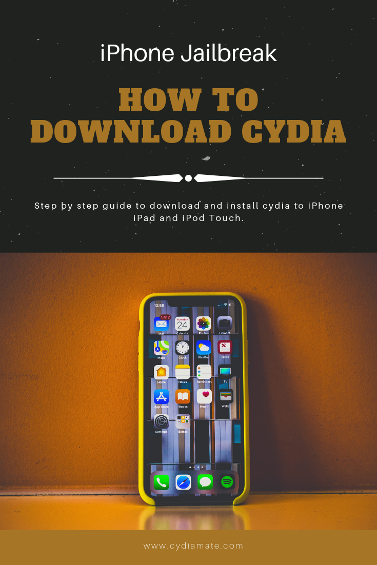 How to download and install cydia to iPhone? Get the step