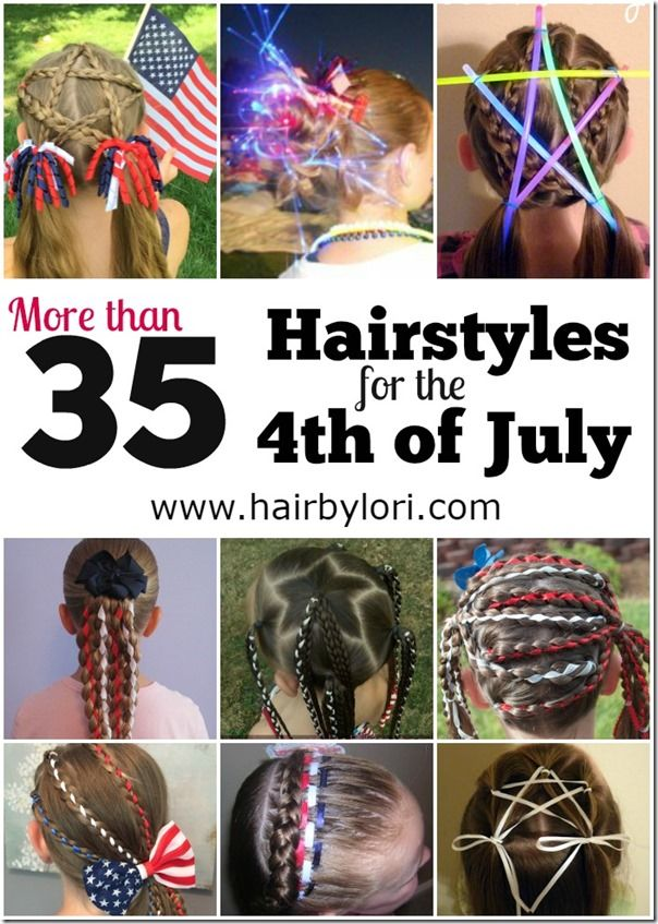 Hair By Lori Hair Styles Crazy Hair Days 4th Of July