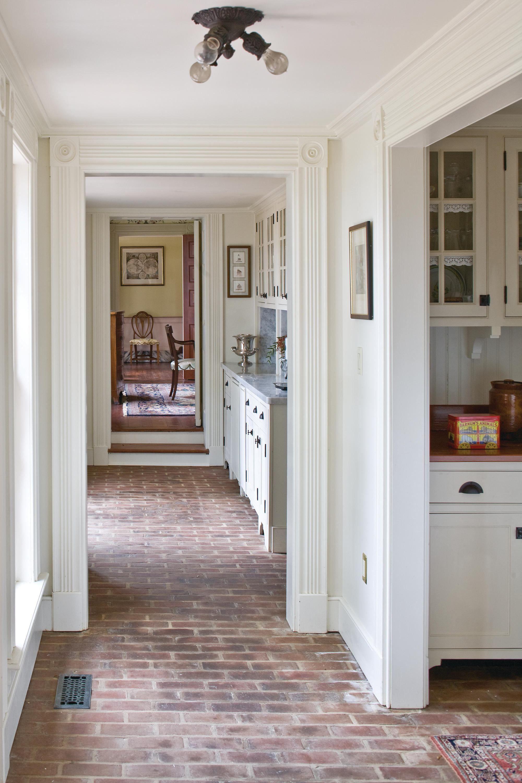 Home Decor Ideas Diy in 2020 Brick floor kitchen, Brick