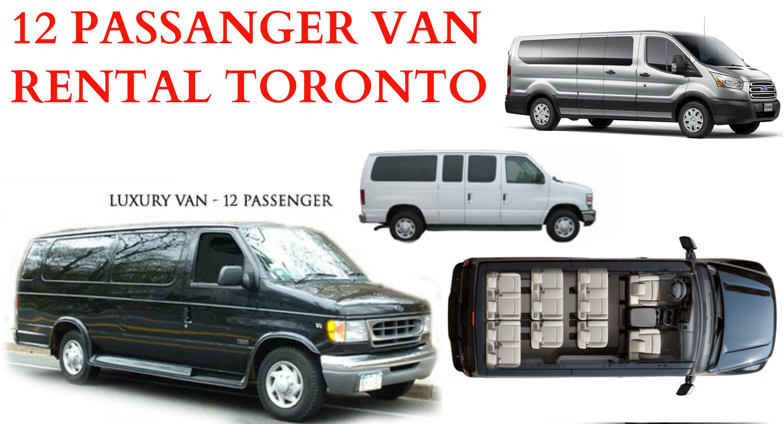 Mississuaga Brampton Car Rental Services 12 8 7 Seater Passenger Van 12 Passenger Van Van Car Rental Service