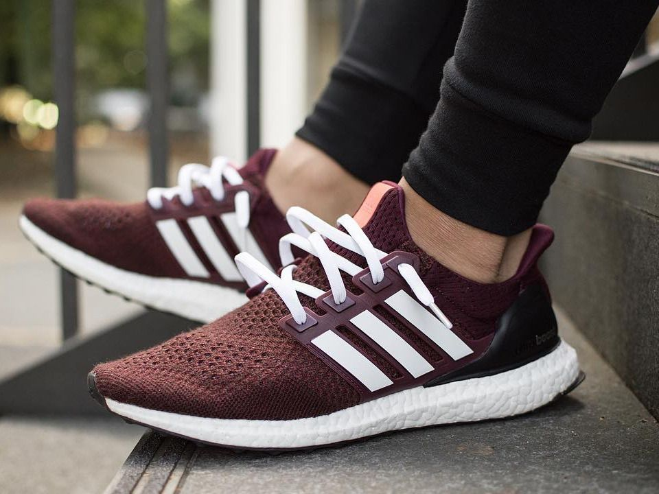 edefd05e3954 Adidas Ultra Boost - Burgundy custom - 2016 (by jonnnylau)