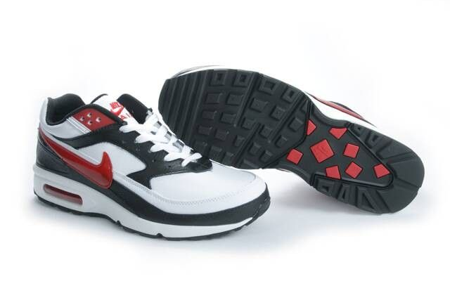 Nike Air Max Classic BW Cheap - Men's Shoes White Black Red HOT SALE! HOT