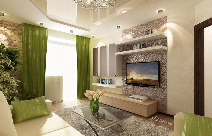 sala-con-paredes-claras Decoración Ovany Pinterest Flor, Hogar - ideas para decorar la sala