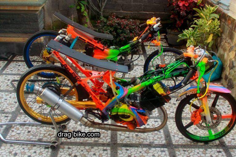 45 Foto Gambar Modifikasi Motor Satria Fu Drag Race Style Drag Bike Com Di 2020 Gambar Motor