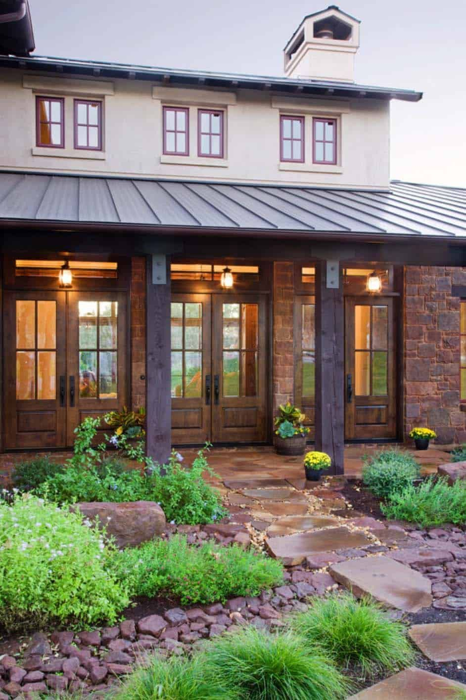 House Plans Texas Hill Country 2021 French Doors Exterior House Exterior Hill Country Homes