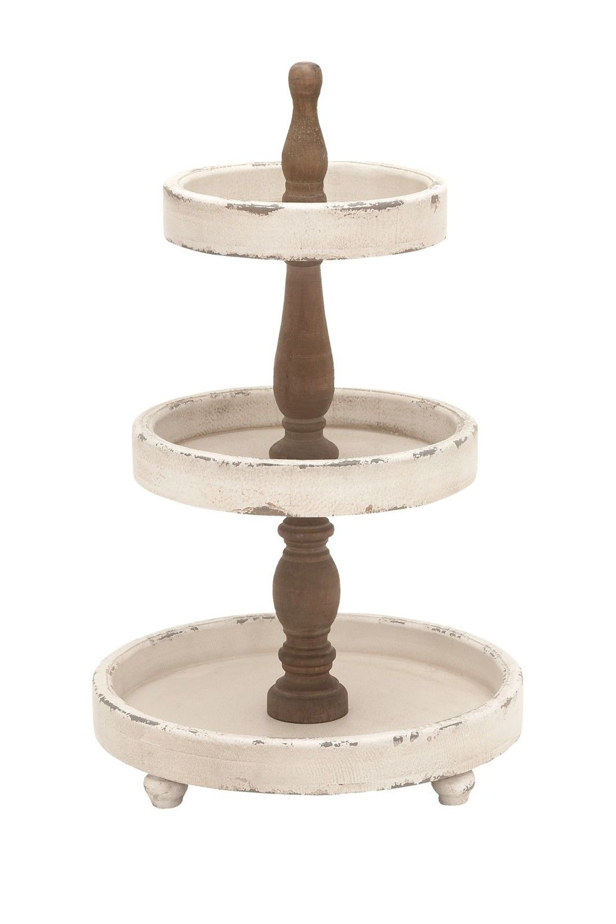 Three Tiered Round Wood Tray Wood Trays Candle Sticks With Final Tiered Tray Stand Tray Decor Wood Tray