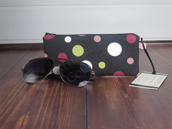 Pouch Sunglasses Case Eyeglasses Cell Phone Pouch Readers Tampon Holder Epipen Case Eyeglasses Zipper Pouch Gift for Her