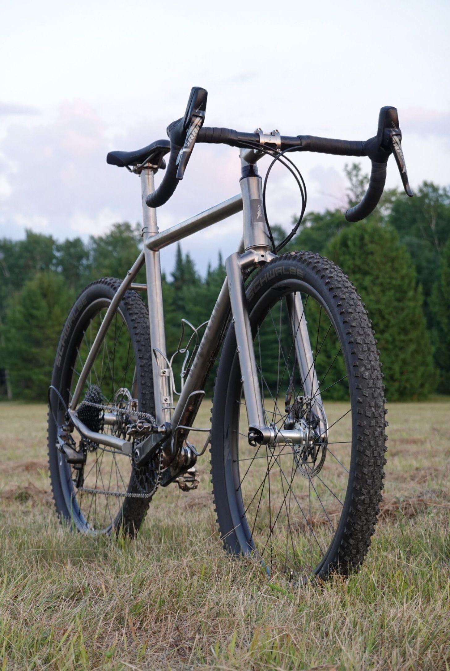 Thunderhawk Gravel Bike Bicycles Gravel Bike Titanium Bike