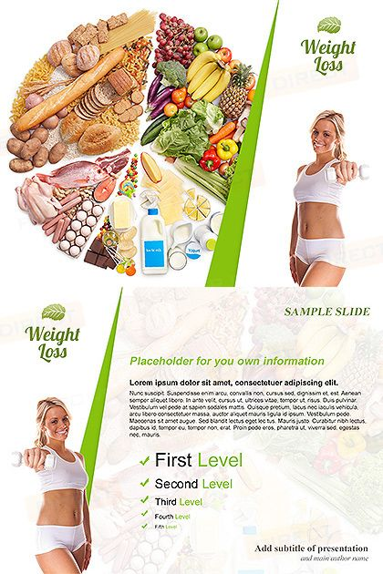 weight loss free powerpoint template free powerpoint templates