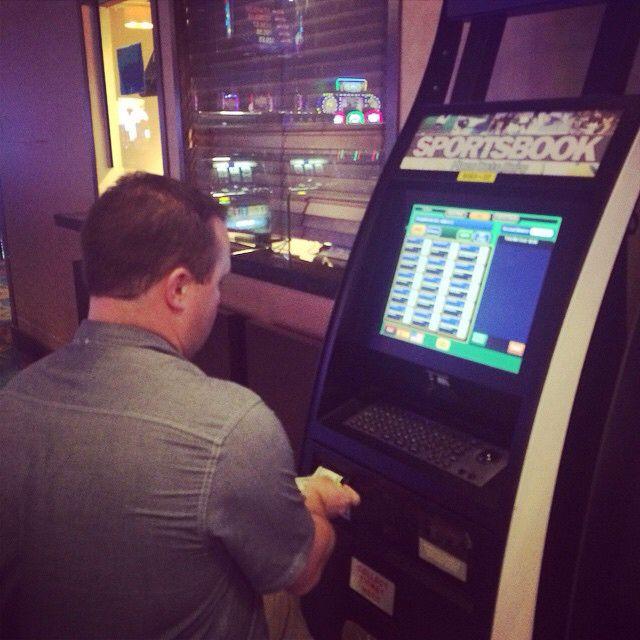 Betting on the game #itslegalhere #kiosks #aruba