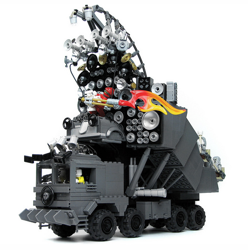 how to build lego mad max cars