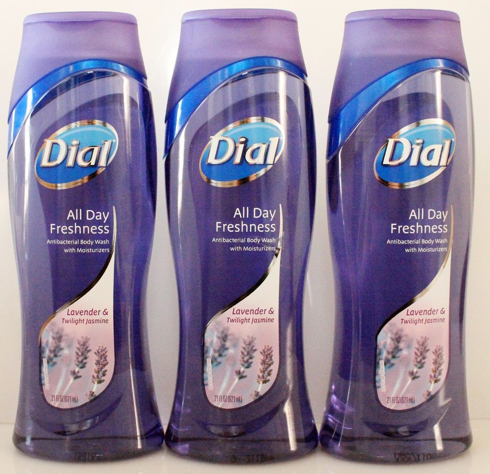 3 Dial Lavender Twilight Jasmine Antibacterial Body Wash With