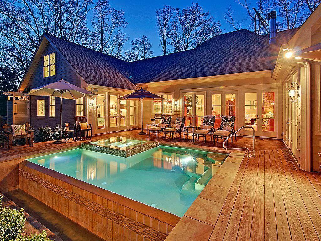 Chapel Hill Home For Sale U Shaped House Plans U Shaped Houses Pool House Plans