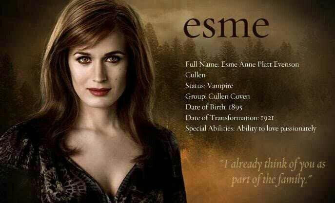 Twilightsaga Newmoon Esme Cullen Twilight Film Twilight