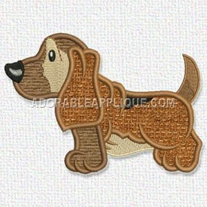 Free Embroidery Design: Dog | Embroidery | Embroidery designs