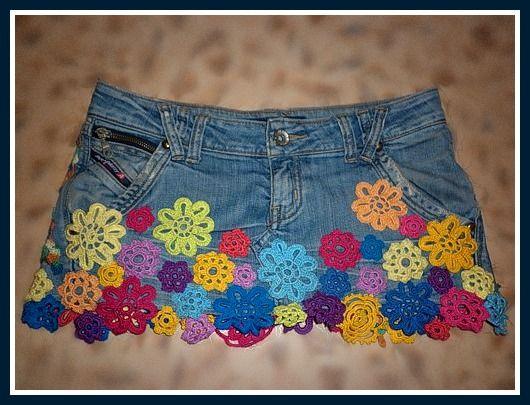 c0f13700055e Текстильные фантазии и не только: Новая одежда из старых джинсов ...