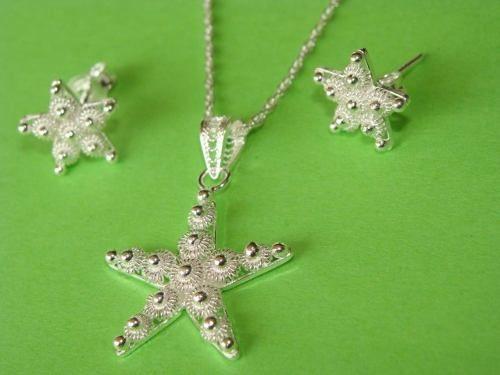 estrella de mar filigrana