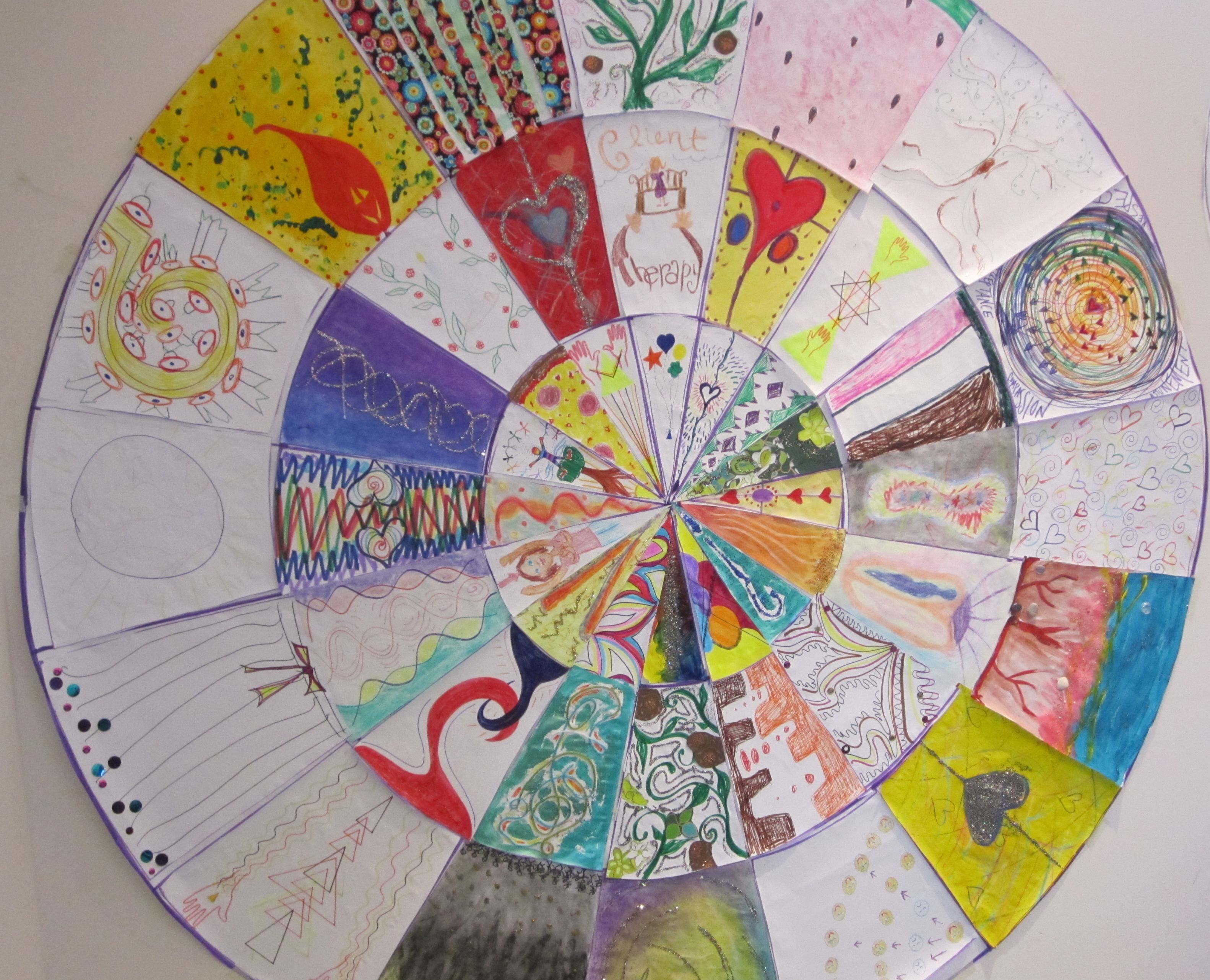 Group Mandala Great For Group Therapy Mindfulness