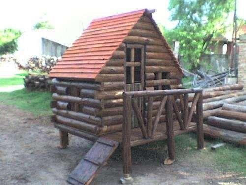 Cabana Para Ninos Y Juegos Infantiles De Madera Cosas Que Me - Cabaas-de-madera-para-nios