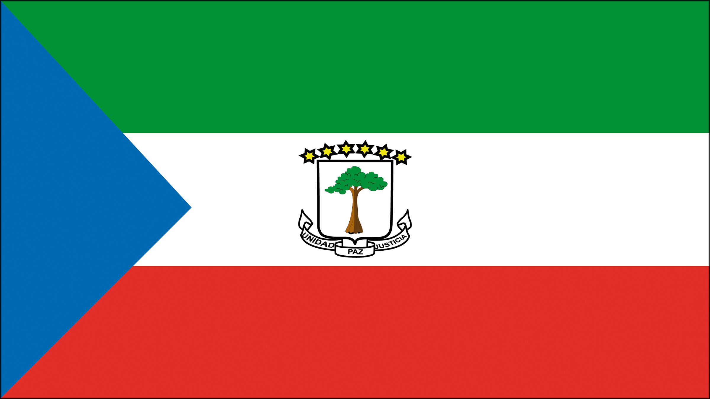 Bandera de Guinea Ecuatorial | Banderas y escudos | Pinterest ...